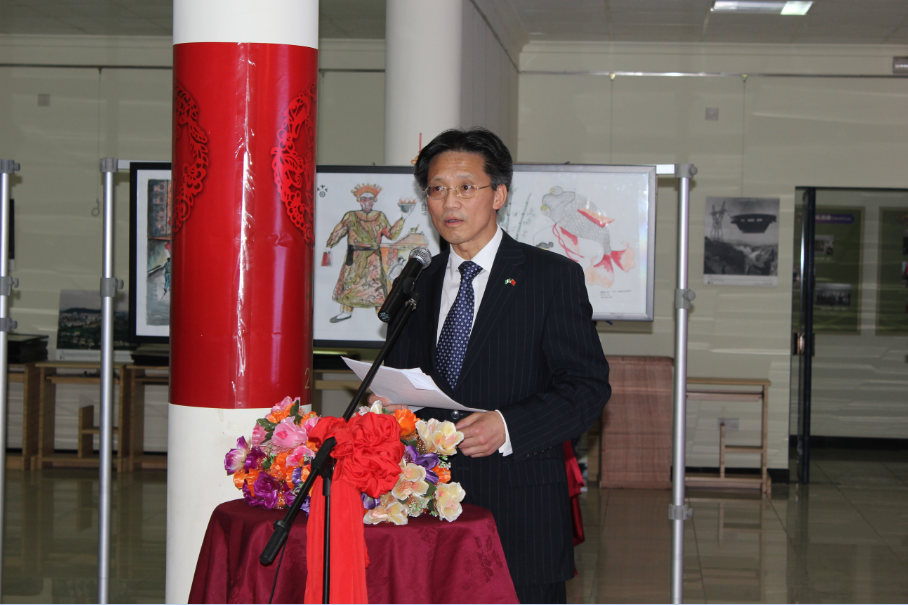 His Excellency Chinese Ambassador Gu Xiaojie