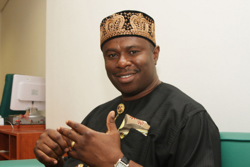 Mr. Dakuku Peterside, Director-General of the Nigerian Maritime Administration and Safety Agency (NIMASA)