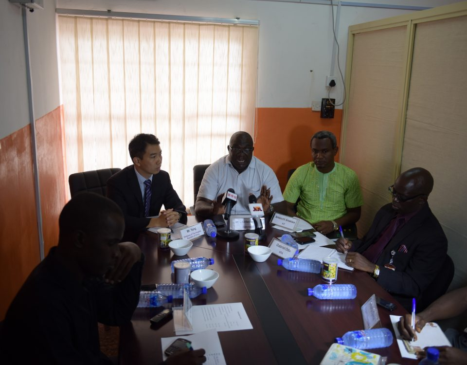 Centre for China Studies media interactive session held in Abuja-Nigeria.