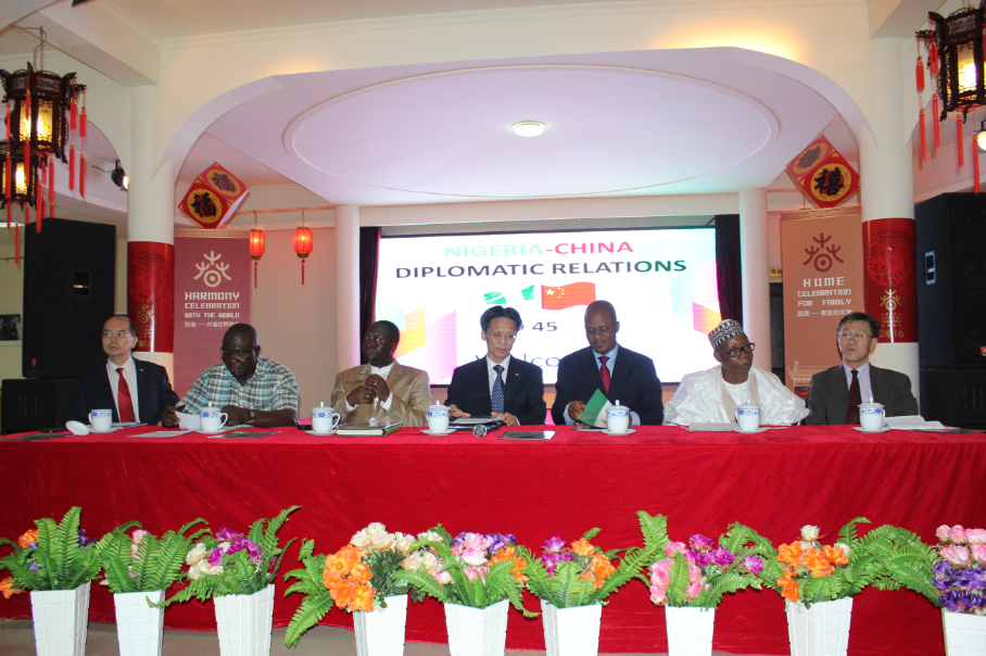 NIGERIA-CHINA DIPLOMATIC RELATIONS AT 45