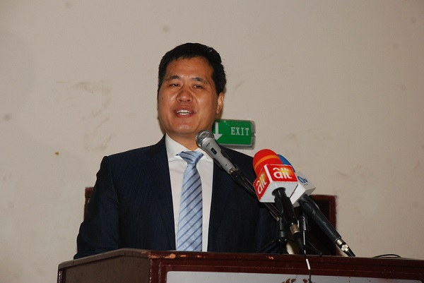 Chinese Ambassador to Nigeria, Dr Zhou Pingjian